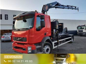 Volvo FL7 290 Euro5 container + kraan - camion ampliroll