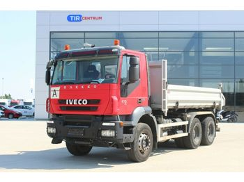 Iveco TRAKKER 410, THREESIDED, 6x4  - camion benne