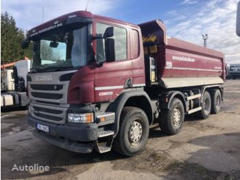SCANIA P410 - camion benne