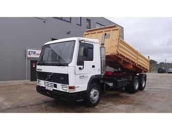 Volvo FL 7 - 280 (ENGINE WITH MANUAL PUMP / FULL STEEL SUSPENSION) - camion benne