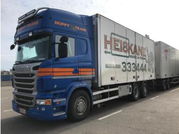 Camion fourgon SCANIA R500