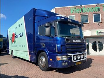 Scania P 94-220 4X2 BOX WITH LIFT SUPER CONDITION - camion fourgon