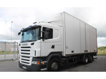 Scania R420LB6X2*4MNB  - camion fourgon