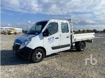 OPEL MOVANO R3500 Crew Cab - camion plateau