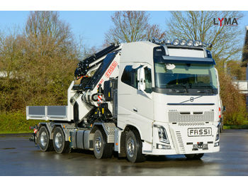 Camion plateau ridelle Volvo FH 16-650 FASSI 1650 RA 2.28 - REFERENZ FZG !!!