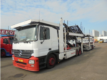 Mercedes-Benz ACTROS 2536 LL MIDLIFT - camion porte-voitures