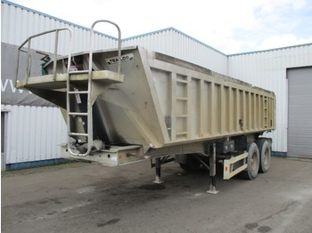 Trailor 2 Axle Spring Suspension alu Tipper, Drum Brakes - semi-remorque benne