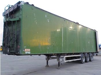 Legras Tri Axle Walking Floor Trailer, Easy Sheet (Plating Certificate Available) - semi-remorque fond mouvant