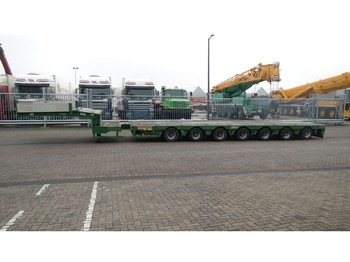 Faymonville 7 AXLE SEMI LOW LOADER 950 CM EXTENDABLE - semi-remorque surbaissé
